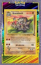 🌈Gravalanch - Fossile Edition 2 - 37/62 - Carte Pokemon Neuve Française
