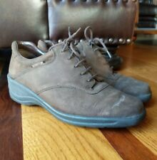 MEPHISTO Womens 'City Hiker' Brown Nubuck Lace Up Oxfords Walking Shoes SIZE 7.5