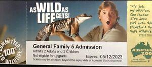 Australia Zoo Family Pass