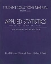 Student Solutions Manual for Applied Statistics for Engineers and Scientists: Us
