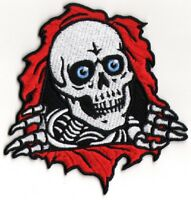 Powell Peralta Ripper Skateboard Patch - New Iron/Sew On old school sk8 bones