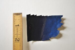 blue metallic paint chip from Ford Expedition