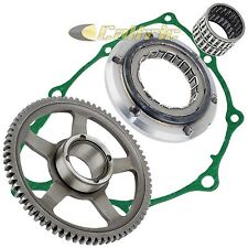 STARTER CLUTCH ONE WAY BEARING w/GEAR IDLER FOR HONDA TRX400X 2009-2014 w/GASKET