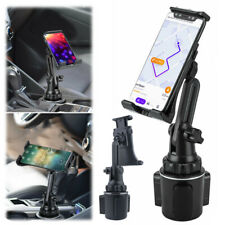 Car Mount Adjustable Cup Holder Stand Cradle For Cell Phone Tablet Universal New