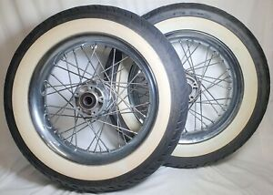 """16"""" WHEELS AND TYRES FOR HARLEY DAVIDSON MOTORCYCLE - D402F & 16M/CXMT3.00"""