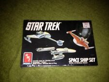 amt star trek space ship set plastic model kit Enterprise Bird of Prey  new