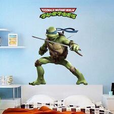 Leonardo Teenage Mutant Ninja Turtles Wall Decals Stickers Kids Bedroom Decor
