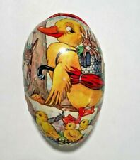 Vintage Easter Eggs 1 Papermache 1 Tin