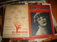 CINE-CINEMA anno III° n. 32 del 20/1/1927 CARMEN BONI