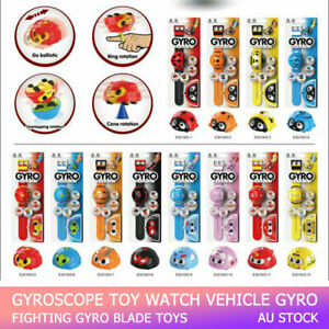 Gyroscope Watch Toy car spinning watch car Beyblades Arena Gyro fighting Vehicle