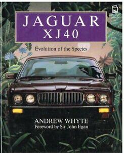 JAGUAR XJ40 SALOON 1986- DESIGN , DEVELOPMENT & PRODUCTION HISTORY BOOK