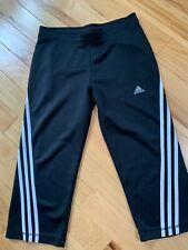 Adidas Capri Yoga/Exercise Pants Sz Med Women