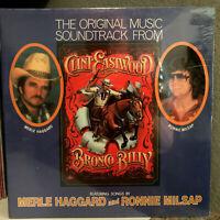 """BRONCO BILLY Movie Soundtrack - Milsap/Haggard - 12"""" Vinyl Record LP - SEALED"""