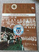 Sunderland v England XL 1979/80