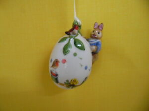 Villeroy & Boch Annual Easter Edition 2021 Jahresei Ostern Osterei Hase Ei Neu