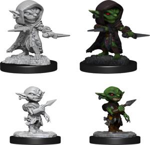 Pathfinder Deep Cuts Unpainted Miniatures: Male Goblin Rogue