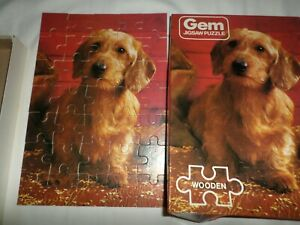 DOGGY GEM FALCON 35pc WOODEN JIGSAW PUZZLE