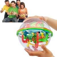 Kids 3D Maze Sphere Labyrinth Magic Rolling Ball Puzzle Brain Teaser Game CO