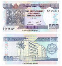 Burundi 500 Francs 2011 P-45b Banknotes UNC
