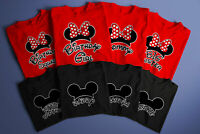 Disney Birthday Squad/Birthday Boy/Girl/Mickey/Minnie/matching family shirts.