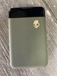 Brand New Skullcandy Fat Stash Portable Power Bank - Tan- 10,000 mAh