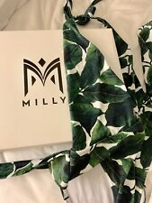 Milly Emerald Banana Leaf One Piece Swimsuit