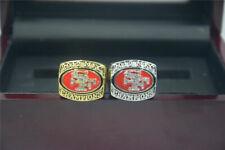 2pcs 2012 2012 San Francisco 49ers Championship Ring ---//