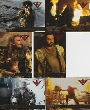 1995  WATERWORLD THE MOVIE FLEER ULTRA DOUBLE FOIL CHASE CARD SET