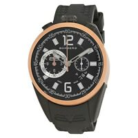 New Mens Bomberg Swiss Made NS44CHTT.0092.2 Chronograph Black Dial Watch