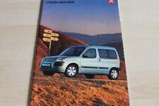 135245) Citroen Berlingo Prospekt 01/2003
