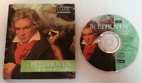 BOOK / CD - The Classic Composers Hardback Book CD Beethoven Spirit Of Freedom