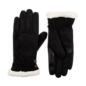 Isotoner Women's Recycled Microsuede Gloves Style A30287