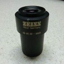 Carl Zeiss Plan W 10x25 Eyepiece for 46 40 30 - 9901 StereoZoom Microscope