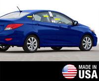 TYGER For 01-08 Honda Fit 6PC Stainless Steel Chrome Pillar Post Trim