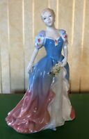 ROYAL DOULTON LADY PAMELA  HN 3756 BLUE & PINK DRESS PERFECT