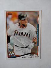 2014 Topps #340 Casey McGehee Miami Marlins