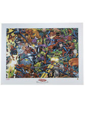 Amazing Spider-Man Lithograph Greatest Villains John Romita Jr Art Marvel Comics