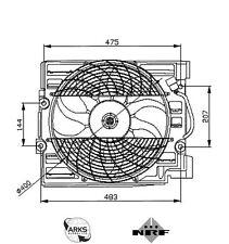 NRF Radiator Fan - 47029