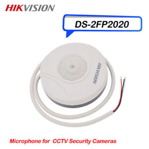 Hikvision Microphone for CCTV security Cameras HI-FI MIC Indoor DS-2FP2020(-A)