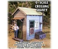 BAR MILLS BUILDINGS 794 O CROSSING SHANTY Model Railroad Building Kit FREE SHIP