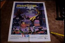 BRAVESTARR ORIG MOVIE POSTER 1987 ANIMATION