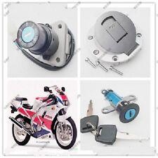 Ignition Switch Gas Cap Seat Lock Key Set for Yamaha TZR125 TZM150 TZR150 TDM850