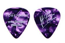 Foreigner Jeff Pilson Signature Purple Pearl Guitar Pick - 2017 40th Ann. Tour