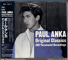 PAUL ANKA Original Classics FOR JAPAN Only 2 CD 1991 W/Obi RARE!!