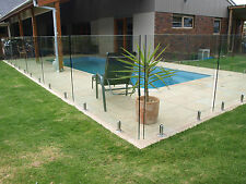 "GLASS POOL FENCING PANELS 700mm x 1200mmx 12mm "" SALE"""