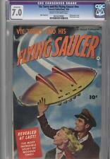 Vic Torry and His Flying Saucer 1950 CGC 7.0