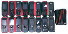16 Lot Nokia 5030c Gsm Cell Phone Locked Personal & 00002F7D amp; Telcel Wholesales Basic Bar