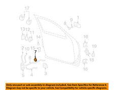 GM OEM Front Door-Guide 16608794