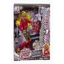 Monster High sustos, Cámara, Acción! Clawdia Wolf Muñeca