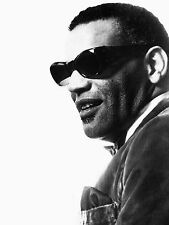 Ray Charles Vocalist Pianist Songwriter Glossy Photo Music Print Picture A4